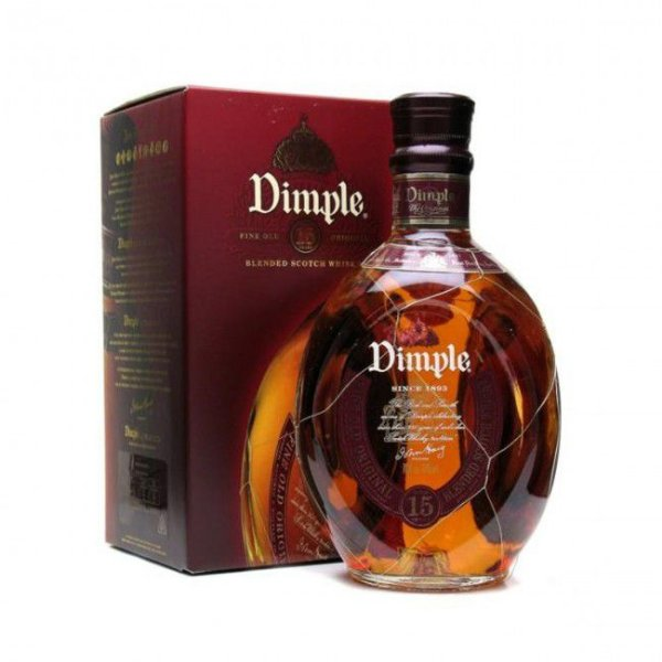 Whisky Dimple 15 anos Blended Scotch - 1 L