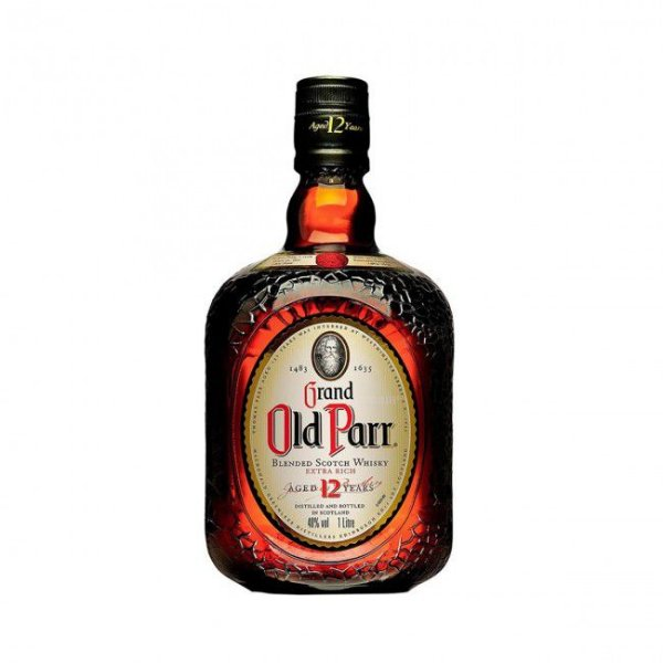 Whisky Old Parr 12 anos - 1L