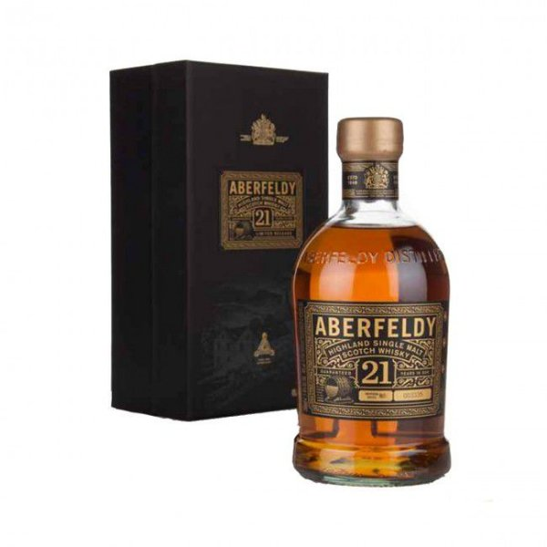Whisky Single Malt Aberfeldy 21 anos - 750ml