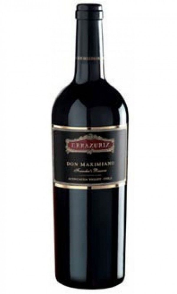 Vinho Tinto Chileno Errazuriz Don Maximiano - 750ml