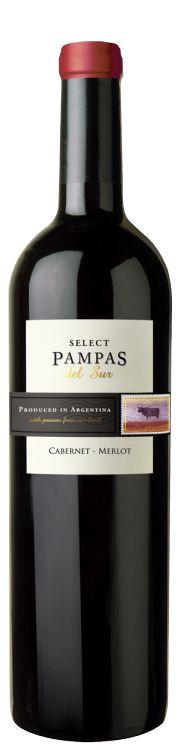 Vinho Select Pampas Del Sur Cabernet-Merlot 750 ml