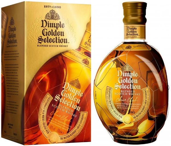 Whisky Dimple Golden Selection 15 anos Blended Scotch - 1 L