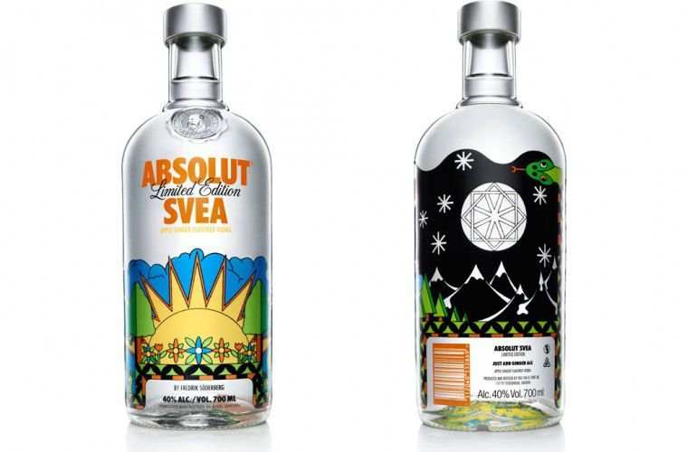 Vodka Absolut SVEA - Edição Limitada 750ml