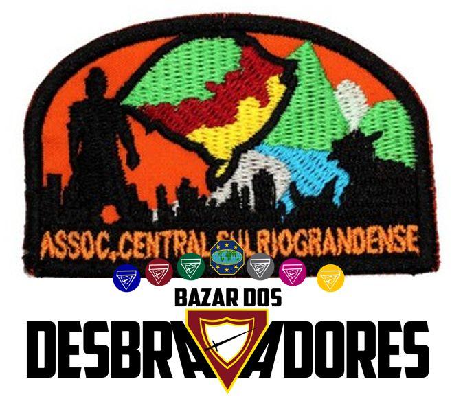 EMBLEMA DE CAMPO - CENTRAL SUL RIOGRANDENSE - ASSOCIAÇÃO