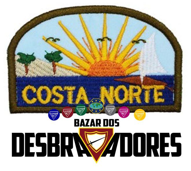 EMBLEMA DE CAMPO - COSTA NORTE  - MISSÃO