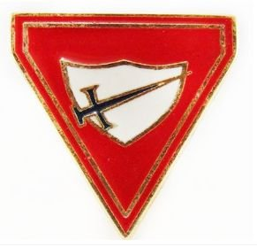 PRENDEDOR DESBRAVADOR METAL - 3 ANEIS