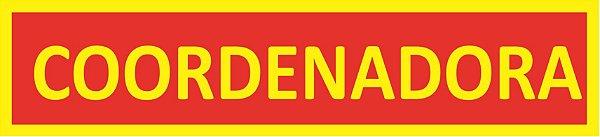 TIRAS DE CARGO - COORDENADORA