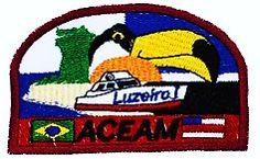 EMBLEMAS DE CAMPO AVENTUREIROS - CENTRAL AMAZONAS - ASSOCIAÇÃO