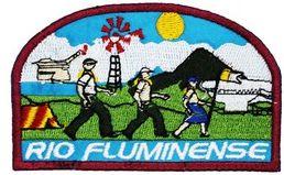 EMBLEMAS DE CAMPO AVENTUREIROS - RIO FLUMINENSE - ASSOCIAÇÃO