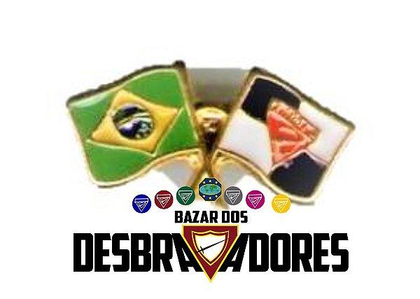 DISTINTIVO - DUAS BANDEIRAS (BR DBV)