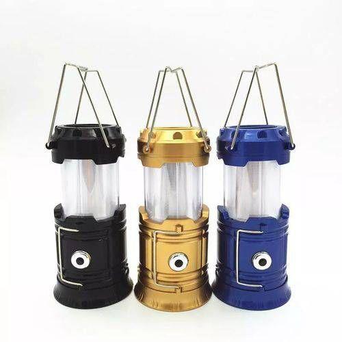 Lampião e Lanterna de LED (Solar)