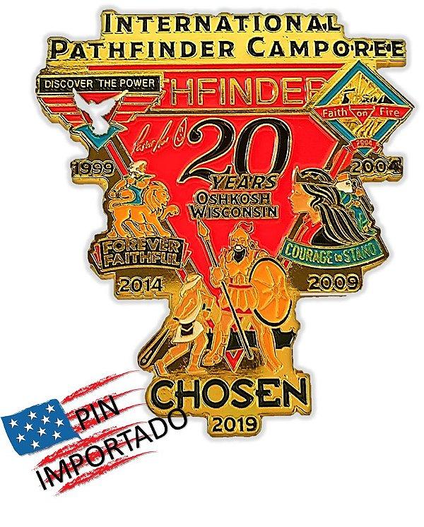 PIN EUA (Importado) - 20 years * International Pathfinders Camporee*