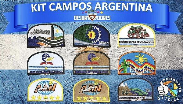 KIT CAMPOS ARGENTINA  (FRETE GRÁTIS)