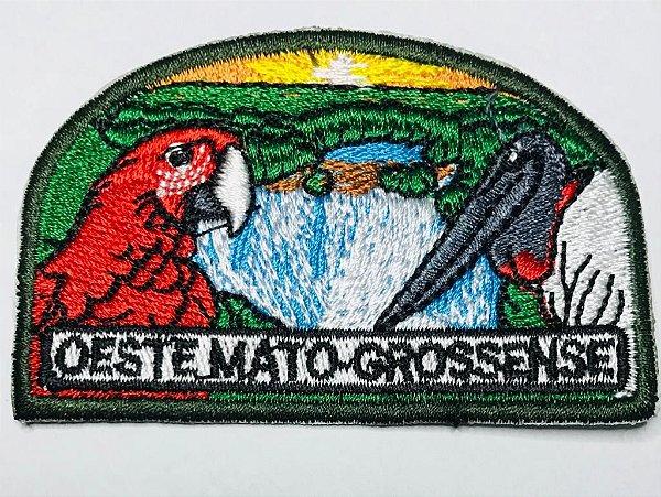 EMBLEMA DE CAMPO - MISSÃO OESTE-MATOGROSSENSE