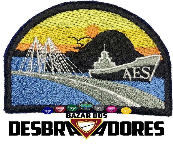 Emblema de Campo antigo AES - 1ª GERAÇÃO (INTERMEDIÁRIO)