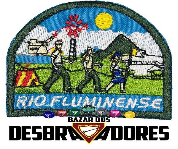 Emblema de Campo Antigo RIO FLUMINENSE - 1ª GERAÇÃO (INTERMEDIÁRIO)