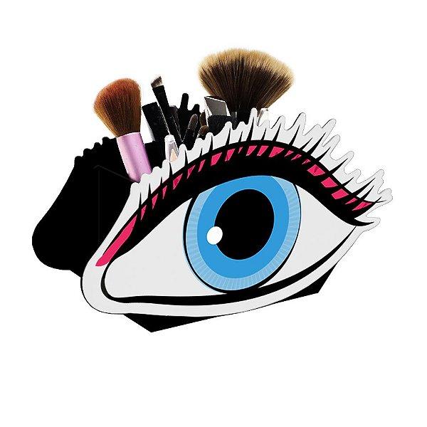 Display De Maquiagens Olho Chic Nerd