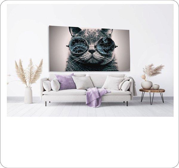 Quadro Decorativo Canvas Gato 2