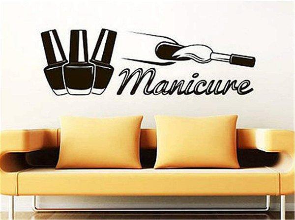 Adesivo de parede Decorativo Manicure 3