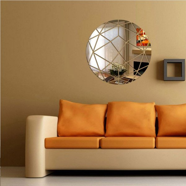 Espelhos Decorativos em Acrílico Círculo Abstrato esp011