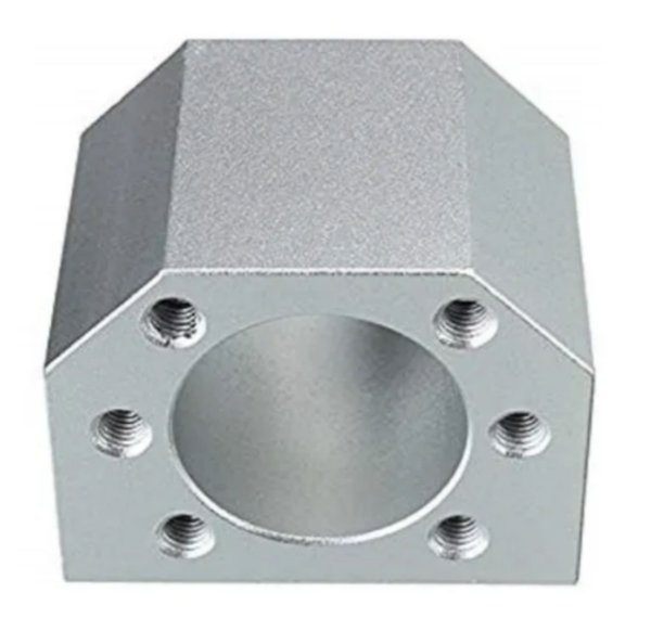 Suporte Para Castanha Fuso De Esferas 25mm Alumínio