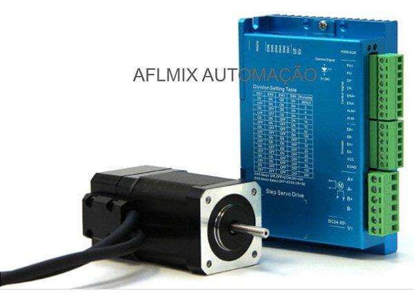 Servo Motor de passo nema 17 com 0,3 nm com driver digital