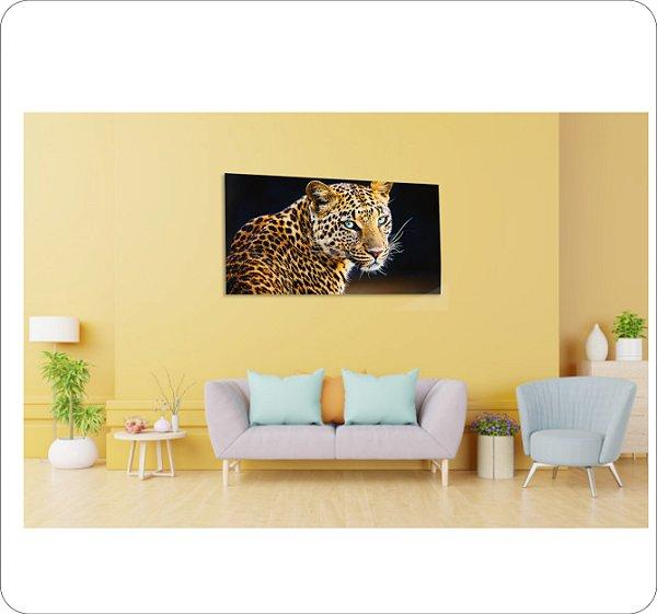 Quadro Decorativo Canvas Leopardo 2