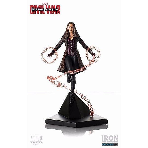 Iron Studios - Feiticeira Escarlate: Guerra Civil - Art Scale 1/10
