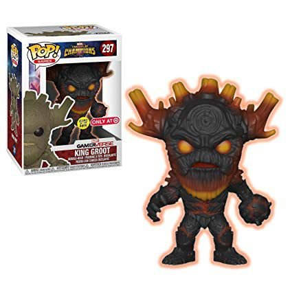 Funko Champions: King Groot (excl. Target) Nº 297