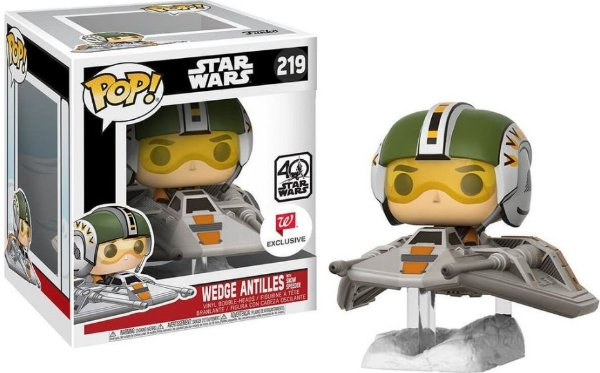 Funko Pop - Deluxe Star Wars: Wedge Antilles With Snow Speeder - (Exclusivo Walgreens)