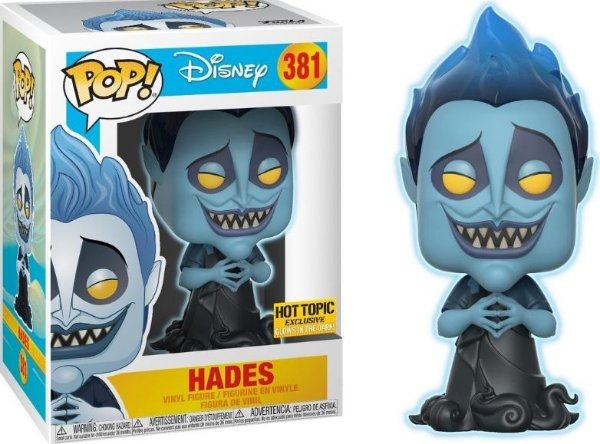 Funko Pop - Disney - Hades (Exclusivo Hot Topic)