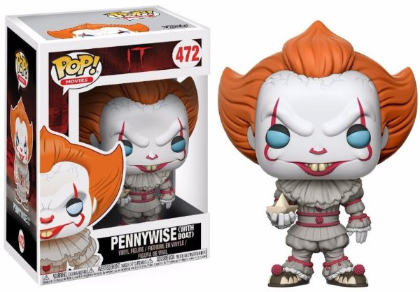 Funko Pop - IT: Pennywise with boat - Nº 472