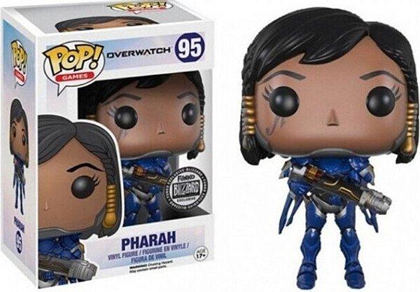 FUNKO POP - OVERWATCH - PHARAH (Azul) - (EXCLUSIVO BLIZZARD)