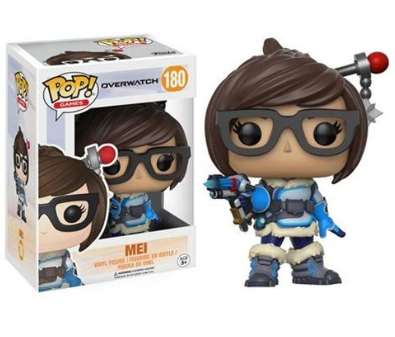Funko Pop - Overwatch: Mei - Nº 180