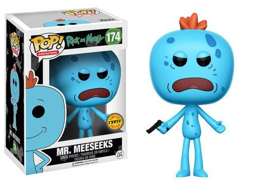 Funko Pop - Rick And Morty - Mr Meeseeks (Chase)
