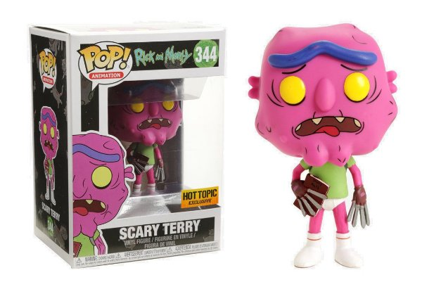 FUNKO POP - RICK AND MORTY: SCARY TERRY (EXCLUSIVO HOT TOPIC)