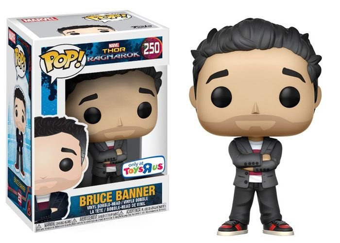 Funko Thor Ragnarok: Bruce Banner (Excl. ToysRus) Nº 250
