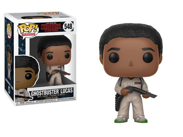 Funko Stranger Things: Ghostbuster Lucas Nº 548