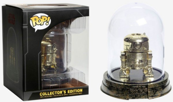 Funko Star Wars: R2-D2 Gold No Domo (Excl. Hot Topic)