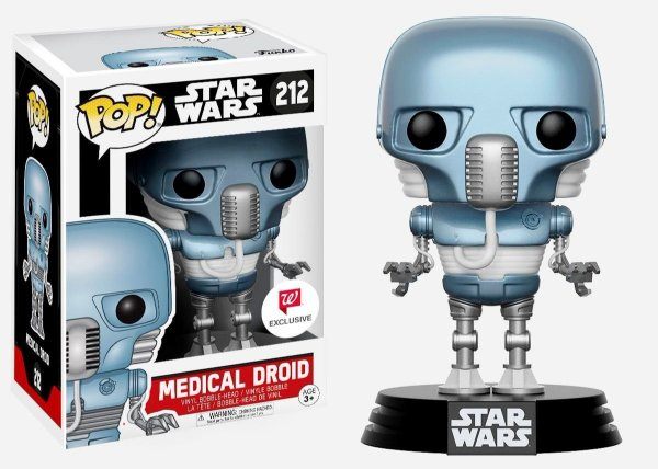Funko Pop - Star Wars: Medical Droid (Exclusivo Walgreens)