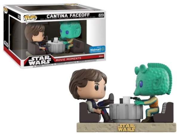 Funko Pop - Star Wars: Movie Moments - Cantina Faceoff (Exclusivo Walmart)