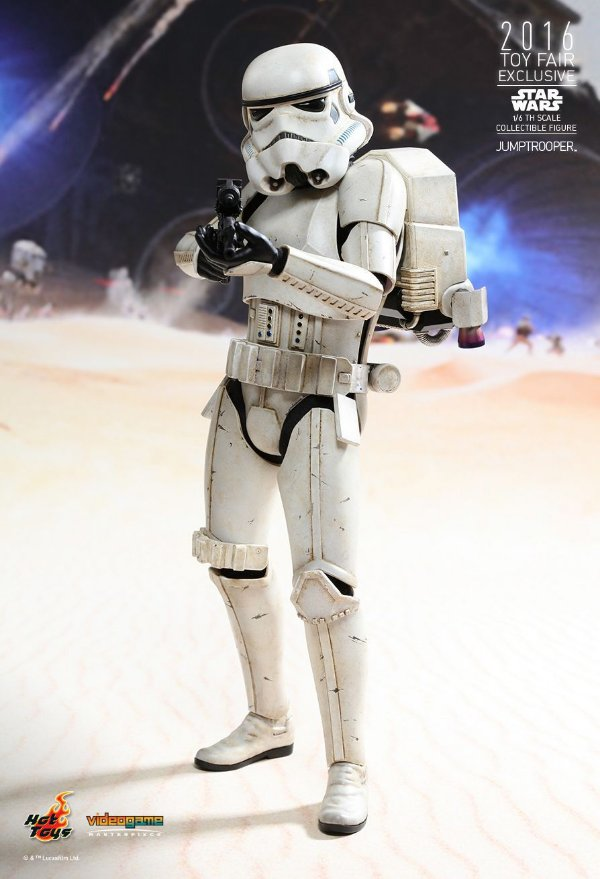 Hot Toys  Storm Trooper: Jumptrooper Exclusiva CCXP 2016