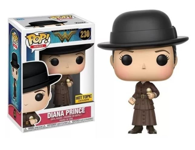 Funko Pop - Wonder Woman - Diana Prince (Exclusivo Hot Topic)