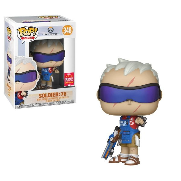 Funko Pop - Overwatch: Soldier 76 (Exclusivo SDCC2018) - Nº 346