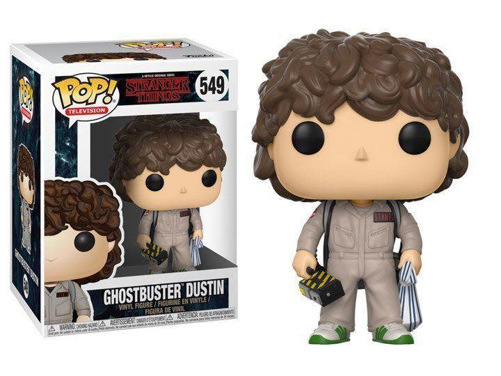Funko Pop - Stranger Things: Ghostbuster Dustin
