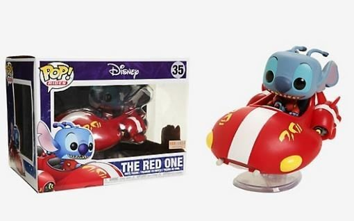 Funko Disney: Stich - The Red One (excl. Box Lunch) Nº 35
