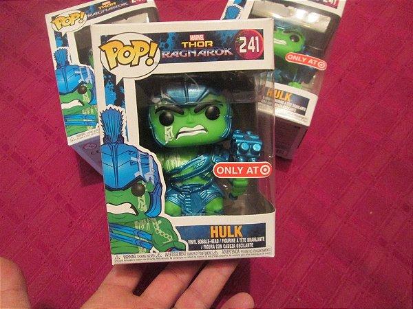 Funko Pop - Thor Ragnarok: Hulk Blue (exclusivo Target) - Nº 241