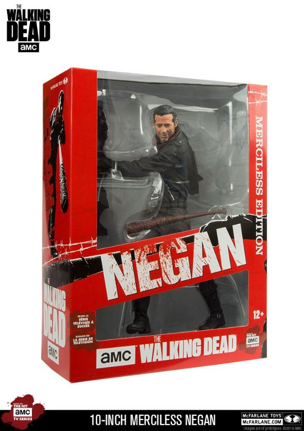 Mcfarlane – The Walking Dead: Negan Deluxe 10""