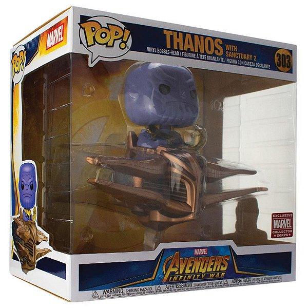 Funko Avengers: Thanos with Sanctuary II Nº 303