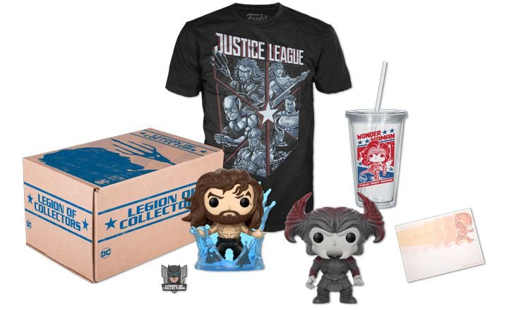 Funko Box - Legion Of Collectors: Box Justice League (Tam G)